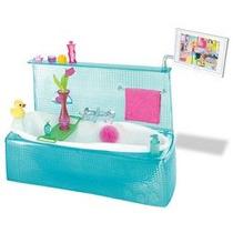 Juguete Barbie Mi Casa Bañera