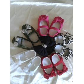 Zapatos Zapatillas Bebes Niñas Regalos Ropas Lazos Bautizo