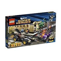 Juguete Lego Super Heroes Batmóvil Y La Caza Dos Caras