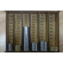 Contenedor/contador De Monedas De Curso Comun (marimba)