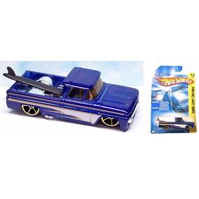 Hot Wheels Custom 62 Chevy Pickup Blu 2008 # 013 Solo Envios