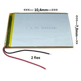 Bateria Tablet Power Pack Powerpack 7204 3000 Mah
