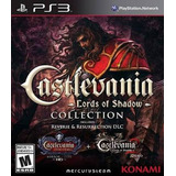 Castlevania Lords Of Shadow Collection Ps3 Disco Físico