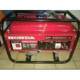 Generador De Luz Monofasico 220 A 300 Wats Honda Japon