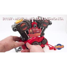 Motor Monta E Desmonta Com Luz E Som - Car 3 - Toyng 31107