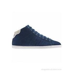 Zapatillas Botitas adidas Urbanas Court Star Slim Mid W Azul