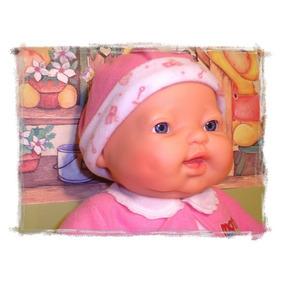 Boneca Expressão Real,chora,ri,ronca Dorme Silicone Original