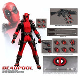 Figura De Deadpool Marvel Mezco One : 12 Nueva !!!