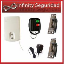Kit Apertura De Cerradura Electrica Inalambrica 2 Puertas