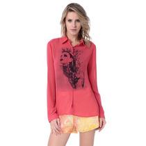 Camisa Vermelha E Preta - Vide Bula