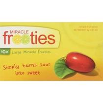 Miracle Berry Tabletas Fruta: Diez Tabletas Caja Amarilla Mi