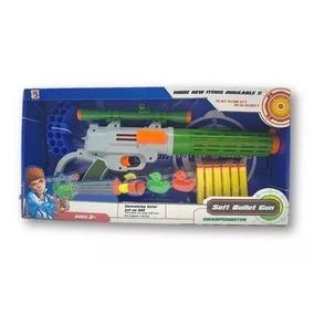 Arma De Brinquedo Nerf,metralhadora Com Alvo
