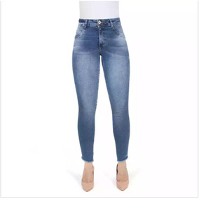Biotipo Cigarrete Fem Jeans Hot Pant Midi
