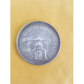 Moneda De 1 Onza Troy Plata Pura - 1980 - Envio Gratis