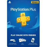 Psn Plus 12 Meses 1 Año Playstation / Ps3 / Ps4 / Vita