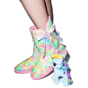 Iron Fist My Little Pony Botas Mi Pequeño Pony Kawaii 7 Mx