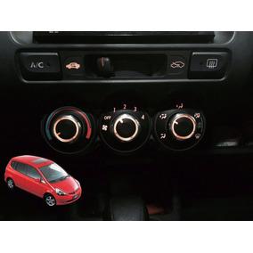 Botão Ar Condiciondo Honda Fit Iluminação Original Acessório