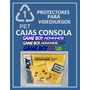 Protector Pet Cristalino Consola Gameboy Sp Color Advance