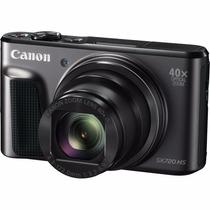 Canon Powershot Sx720 Hs Zoom 40x 20mp + Sd 16gb Cl10 Preta