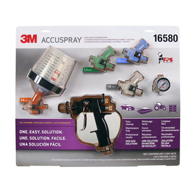 3m Kit Pistola Accuspray One Con Pps Automotriz 16580