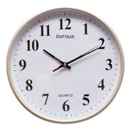 Reloj De Pared Dufour Silencioso Grande Deco Fashion 037