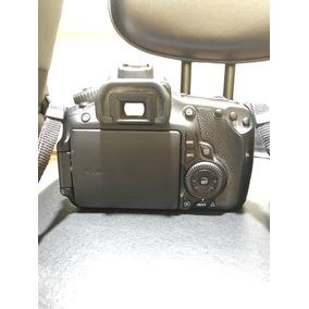 Camera Canon Eos 60d + Lente 18-55mm + Extensor De Bateria
