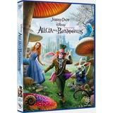 Alicia En El Pais De Las Maravillas Johnny Deep Disney Dvd