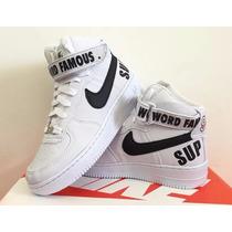 Tênis Nike Air Force 1 Supreme Basquete Masculino Feminino