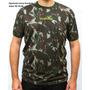 Camiseta Camuflada Exército - Tecido Dry