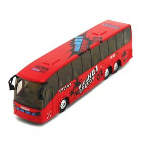 Onibus Metal Rodoviário Viagem Marcopolo Mercedes Brinquedo
