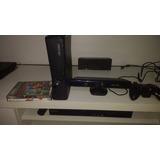 Xbox 360 Completo Com Quinet Dois Jogos Midia Fisica 1 Contr