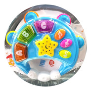 Pandereta Musical Infantil Juguete Luces Sonido Baby Shower