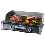 Emeril Por T-fal Tg8018 Station Grill 1700 W Con 2 Controles