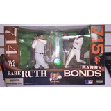 Figuras Béisbol Mcfarlane Barry Bonds / Babe Ruth
