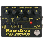 Pedal Tech 21 Sansamp Bass Driver Di Version 2