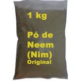 1 Kg Pó Da Folha Nim Neem Azadiractha Índica Puro Original