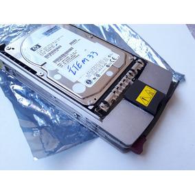 Hd Hp 72.8gb 15k Ultra320 Bf072863b6 306641-003 C/gaveta