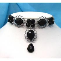 Colar Medieval Drop Collar - Onyx - Rsm