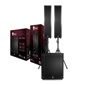 Sistema Alien Opera Sub 12 + 2 Torres 80 Watts
