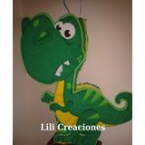 Piñatas Dinosaurio, Simba, Zou, Cerda Pig, Gaturro.
