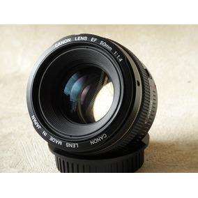 Lente Canon 50 F1.4