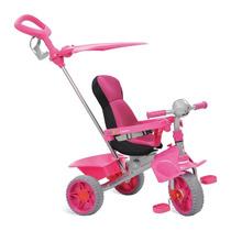 Triciclo Smart Confort Carrinho Bebe Passeio Rosa Bandeirant