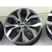 Jg Roda 15 New Fiesta 4x108 Ford Ka A6 Rs6 Grafite Diamanta