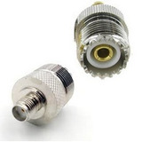 Conector Adaptador Sma-f So239 Para Ht Puxing Px-328 E Etc