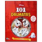 101 Dalmatas Classicos Disney Pixar Ler Ouvir Livro + Cd