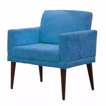 Poltrona Sala\quarto Decorativa Emília Azul !!!!