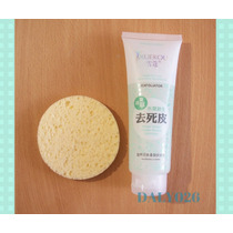 Kit Exfoliante Facial Anti-acné Y Plantilla Delineado Ojos