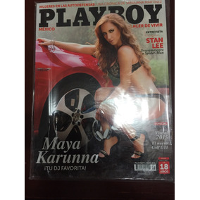 Revista Playboy Maya Karunna Vol 13 Num 145
