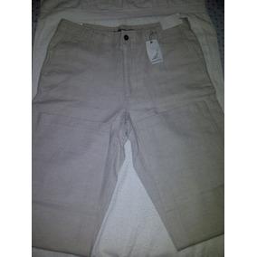 Pantalones Casuales Nautica Lino Caballeros