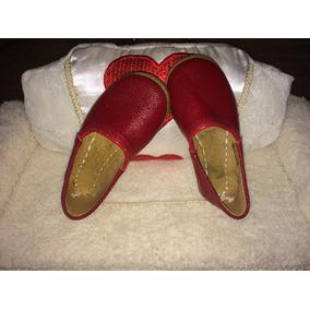 Zapatos Turcos Artesanales P/ Niña. Yemenici Hayri Usta #13